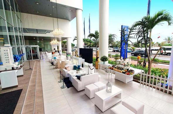 Marvelous Event Hosting Area At Garden Court Marine Parade Hotel.