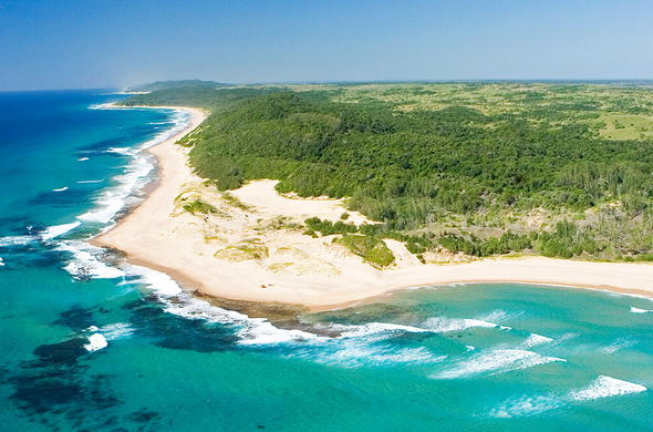 Rocktail Beach Camp is located in Kwazulu-Natal North Coast.