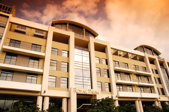 Exterior view of Royal Palm in Umhlanga.
