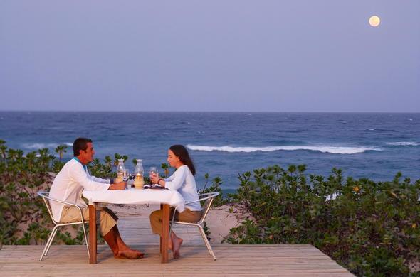 Enjoy A Dinner Outside